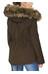 Tenson Zarah jakke brun